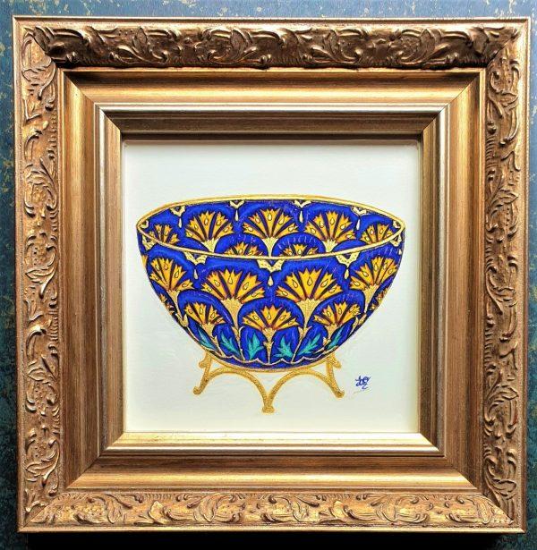 Lotus Bowl framed